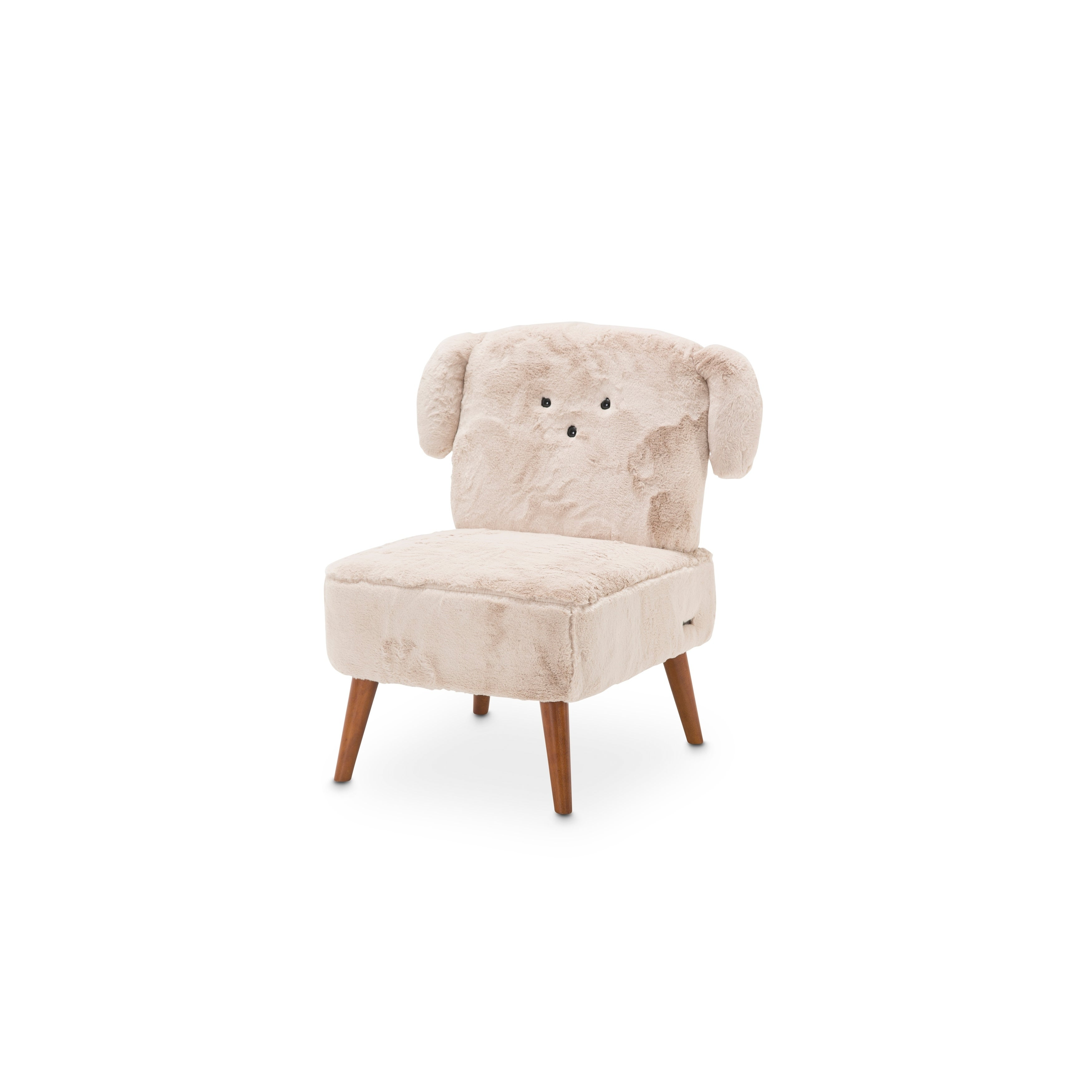 Silicon Babies Stone and Capri Puppy Armless Chair by Kathy Ireland