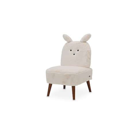 Silicon Babies Powder and Capri Bunny Armless Chair by Kathy Ireland