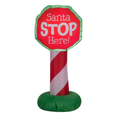 3.5 ft. Inflatable Holiday Sign