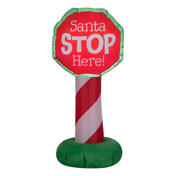 3.5 ft. Inflatable Holiday Sign. Opens flyout.