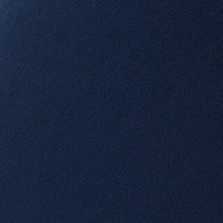 Kotter Home Velvet Channel Accent Chair (Blue Velvet Fabric Sample)