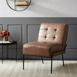 Carbon Loft Hofstetler Armless Tufted Accent Chair
