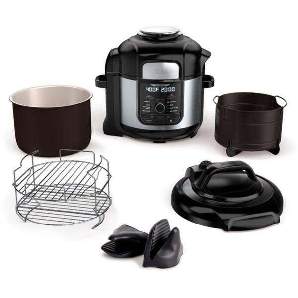 Shop Ninja Fd402 Foodi 8 Qt 9 In 1 Deluxe Xl Pressure Cooker Air Fryer Overstock 29205202