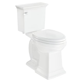 American Standard Town Square S Right Height Elongated Toilet - White