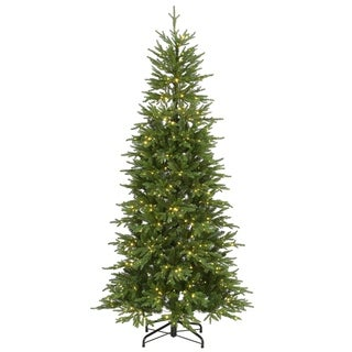 7.5 ft. Bedminster Spruce Slim Tree with Dual Color® LED Infinity Lights®