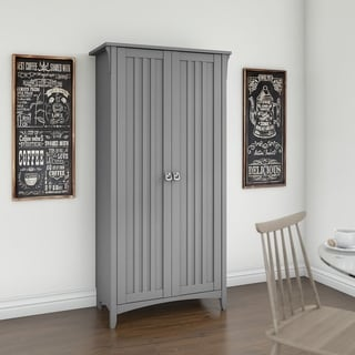Bush Furniture Salinas Kitchen Pantry Cabinet with Doors