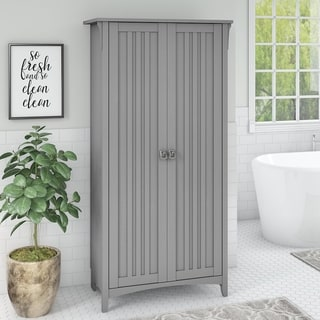 Bush Furniture Salinas Bathroom Storage Cabinet with Doors