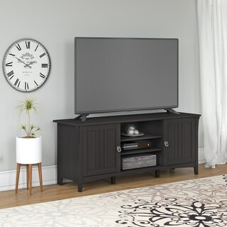 Bush Furniture Salinas 60W TV Stand for 70 Inch TV (Black)