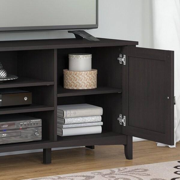 Bush Furniture Salinas 60W TV Stand for 70 Inch TV in Cape Cod Gray