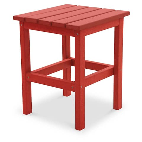 """Hawkesbury Recycled Plastic Side Table by Havenside Home - 15"""" x 15"""""""