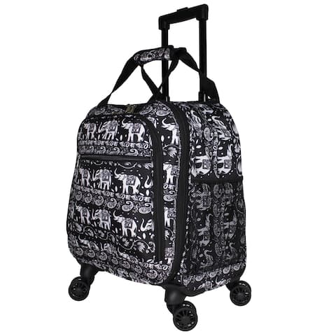 Elephant 18-Inch Spinner Laptop Carry On Luggage