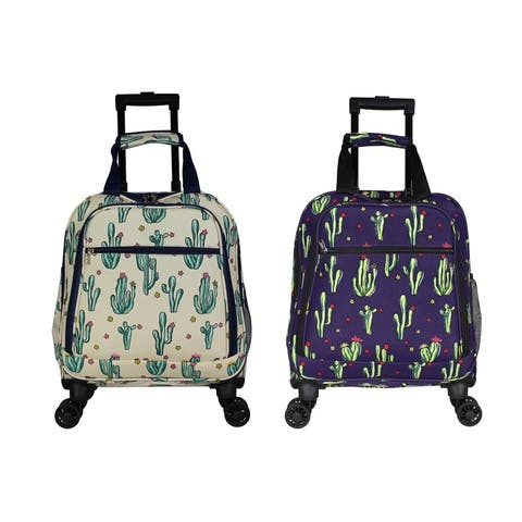 Cactus 18-Inch Spinner Laptop Carry On Luggage