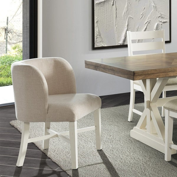 The Gray Barn Nook Parson Chair (Set of 2) - N/A. Opens flyout.