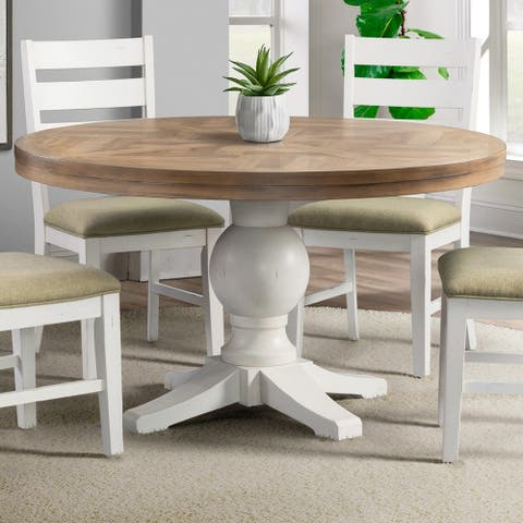 The Gray Barn Nook Round Standard Height Dining Table