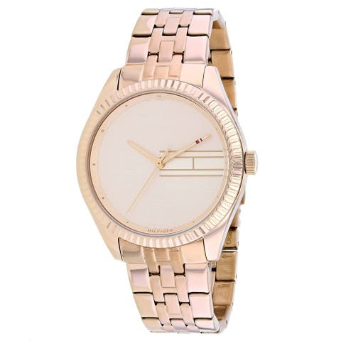 Tommy Hilfiger Women's Classic Rose gold Dial Watch - 1782082