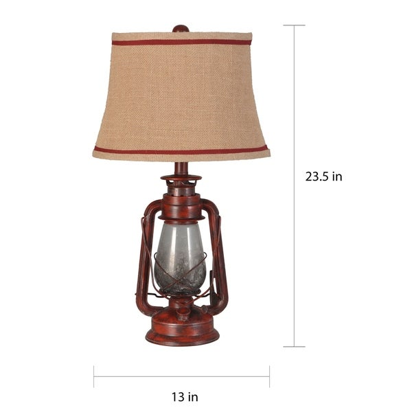 The Gray Barn Thornfield Lantern Table Lamp (Set of 2)