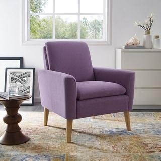 Carson Carrington Padjerim Purple Armchair