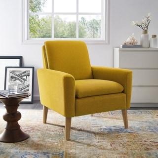 Garnes Armchair - Yellow