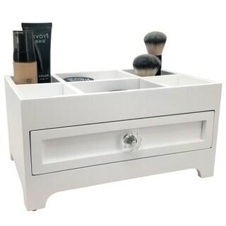 OnDisplay Millie Deluxe Wood Cosmetics/Makeup Organization Station