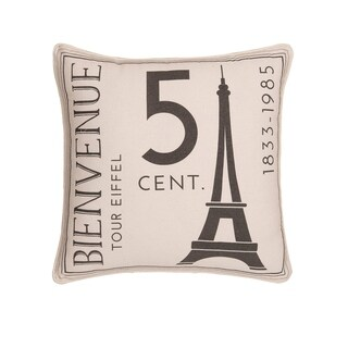 From Paris With Love Pillow
