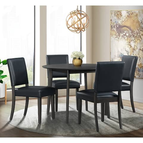 Picket House Furnishings Vail Round 5PC Dining Set