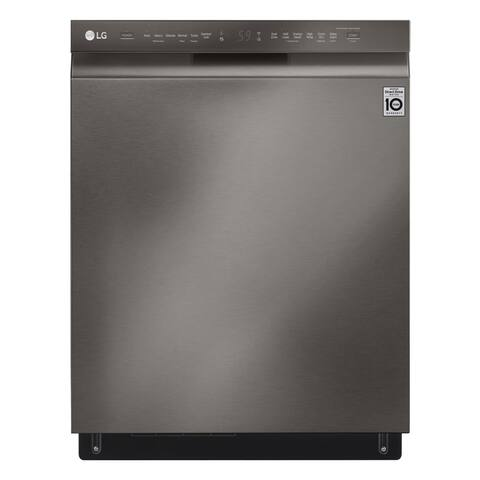 LG LDF5678BD Front Control Smart wi-fi Enabled Dishwasher with QuadWash - Black Stainless Steel