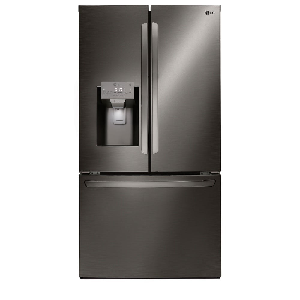 LG  LFXS28968D 28 cu.ft. Smart wi-fi Enabled French Door Refrigerator - Black Stainless Steel