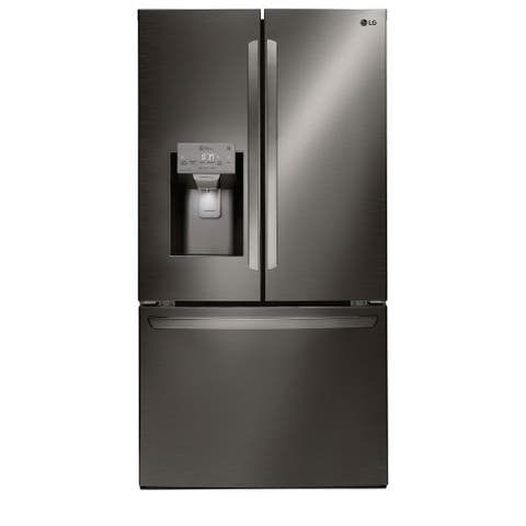 28 cu.ft. Smart WiFi Black Stainless French Door Refrigerator