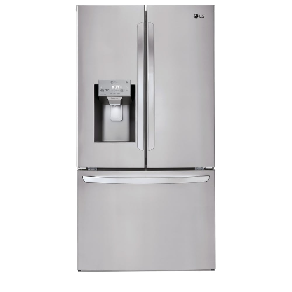 LG  LFXC22526S 22 cu. ft. Smart wi-fi Enabled French Door Counter-Depth Refrigerator - Stainless Steel