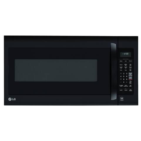 LG LMV2031SB 2.0 cu. ft. Over-the-Range Microwave Oven with EasyClean - Black Steel