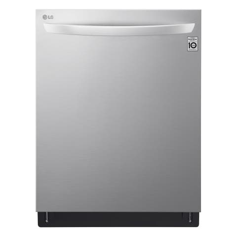 LG LDT6809SS Top Control Smart wi-fi Enabled Dishwasher with QuadWash and TrueSteam - Stainless Steel