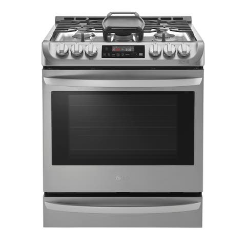 LG LSG4515ST 6.3 cu. ft. Smart wi-fi Enabled Gas Single Oven Slide-in Range with ProBake Convection - Stainless Steel