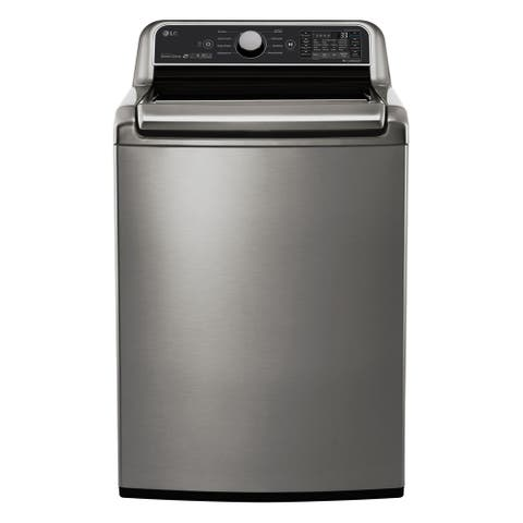 LG WT7300CV 5.0 cu.ft. Smart wi-fi Enabled Top Load Washer with TurboWash3D Technology - Graphite Steel