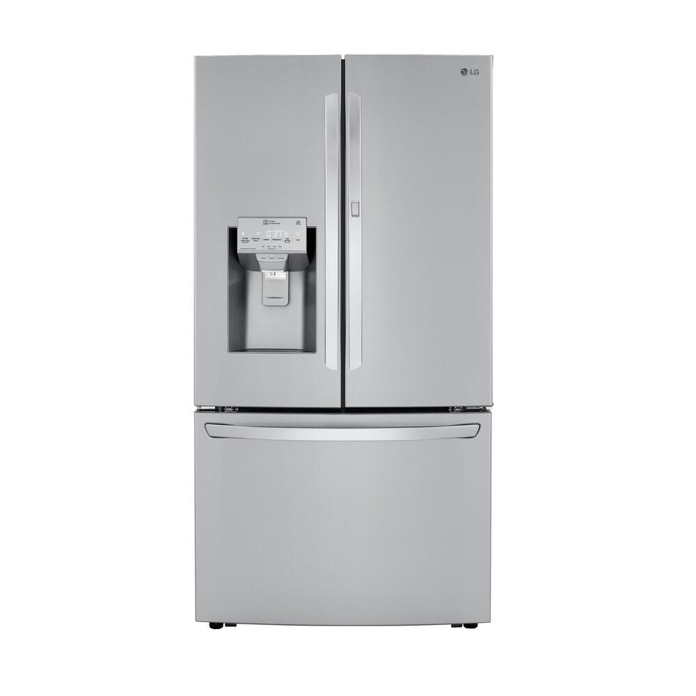 LG  LRFDS3006S 30 cu. ft. Smart wi-fi Enabled French Door Refrigerator with Door-in-Door - Stainless Steel