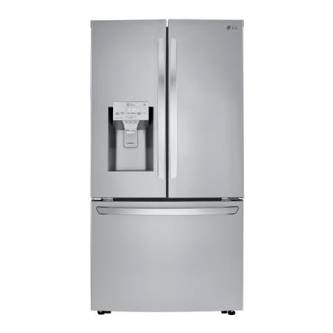 LG LRFXC2406S 24 cu. ft. Smart wi-fi Enabled French Door Counter-Depth Refrigerator - Stainless Steel