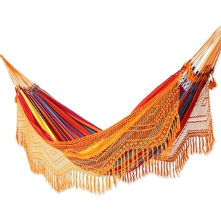Momi Handmade Cotton Double Hammock by Havenside Home