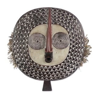 Festival Sun African Wood Mask