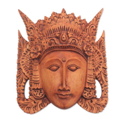 Handmade Beauty Of Cili Wood Mask (Bali)
