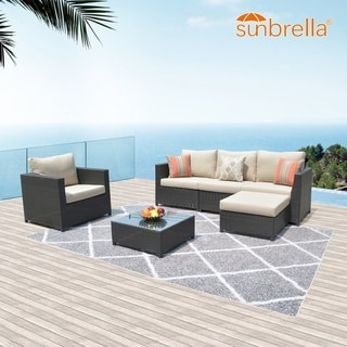 Link to Ovios Patio Furniture 6-piece Outdoor Set Similar Items in Outdoor Sofas, Chairs & Sectionals