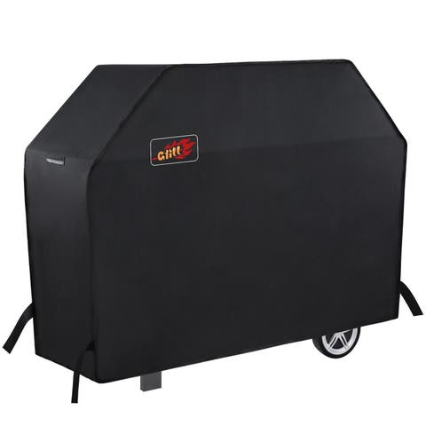 Grill Cover 58-Inch Waterproof BBQ Cover 600D Heavy Duty Gas Grill Cover Classic Accessories