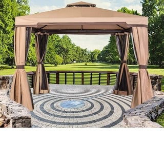 Suncrown Outdoor 10 ft. Patio Garden Gazebo