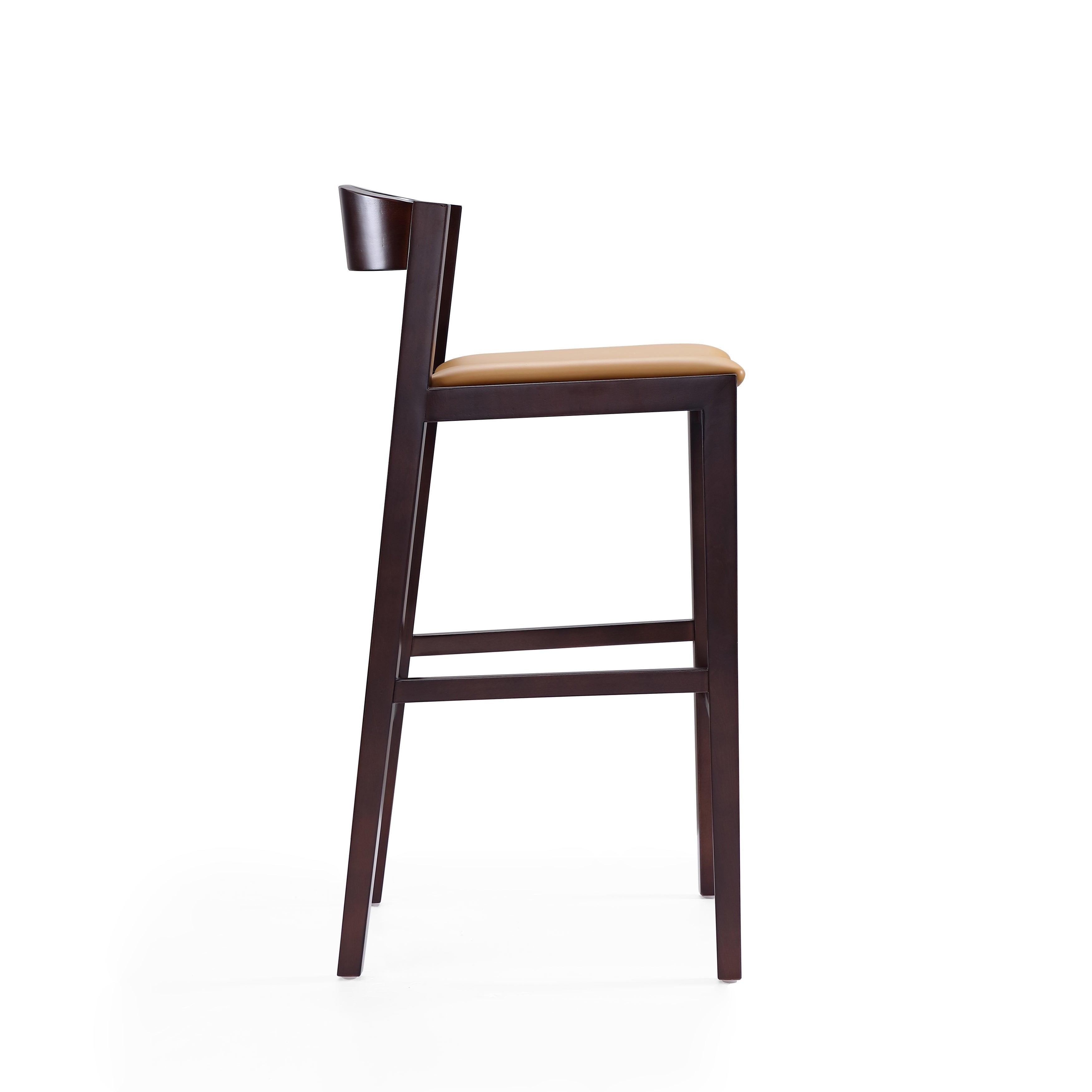 Super Ceets Modern And Sleek Klismos Bar Stool Inzonedesignstudio Interior Chair Design Inzonedesignstudiocom