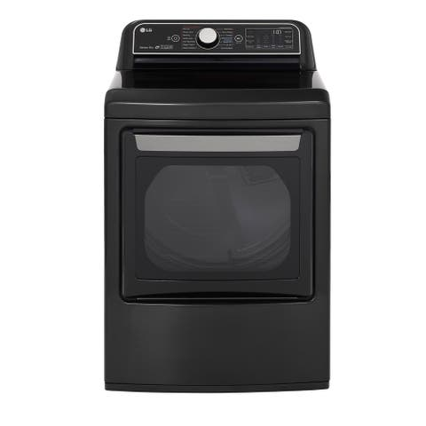 LG DLEX7900BE 7.3 cu.ft. Smart wi-fi Enabled Electric Dryer with TurboSteam - Black