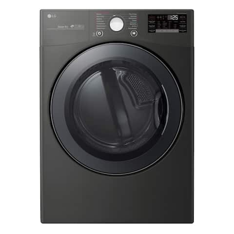 LG DLEX3900B 7.4 cu.ft. Smart wi-fi Enabled Electric Dryer with TurboSteam - Black