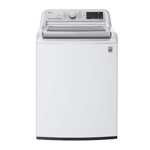 LG WT7800CW 5.5 cu.ft. Smart wi-fi Enabled Top Load Washer with TurboWash3D Technology - White