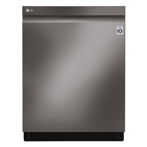 LG LDP6809BD Top Control Smart wi-fi Enabled Dishwasher with QuadWash and TrueSteam - Black Stainless Steel