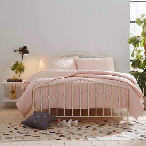 Novogratz Millie Pink Quilt Set