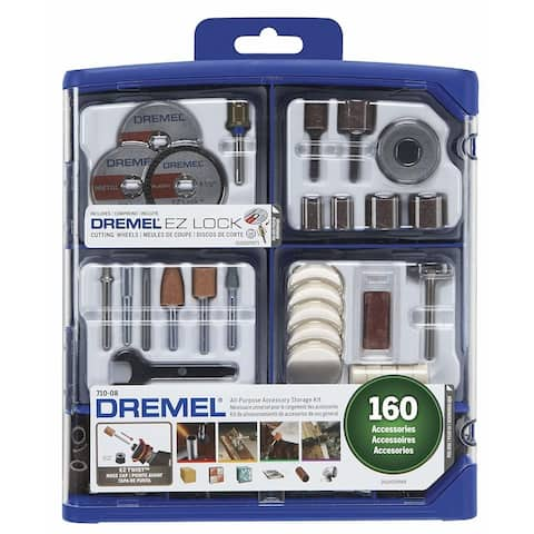 Dremel 710-08 All-Purpose Rotary Accessory Kit (160-Piece)