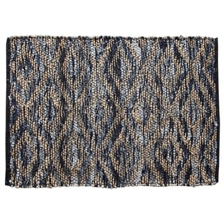 Parker Denim Area Rug in Different Sizes with Blue Color