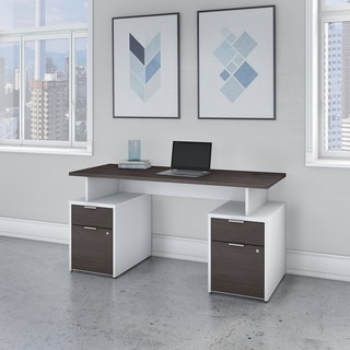 Jamestown 60W Desk with 4 Drawers by Bush Business Furniture